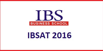 IBSAT ENTRANCE EXAM 2016
